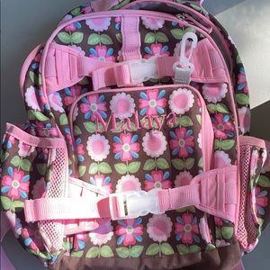 Girl's BackPack Customized with the name Malaya